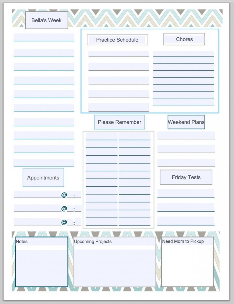 Guest Blogger: Get Organized With A Free To Do List Printable From intended for Free Printable To Do List To Get Organized 26036