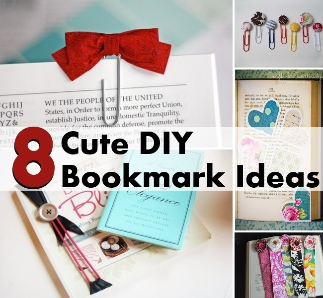 Handmade Bookmark Tutorial | World Of Example for Handmade Bookmark Tutorial 29702
