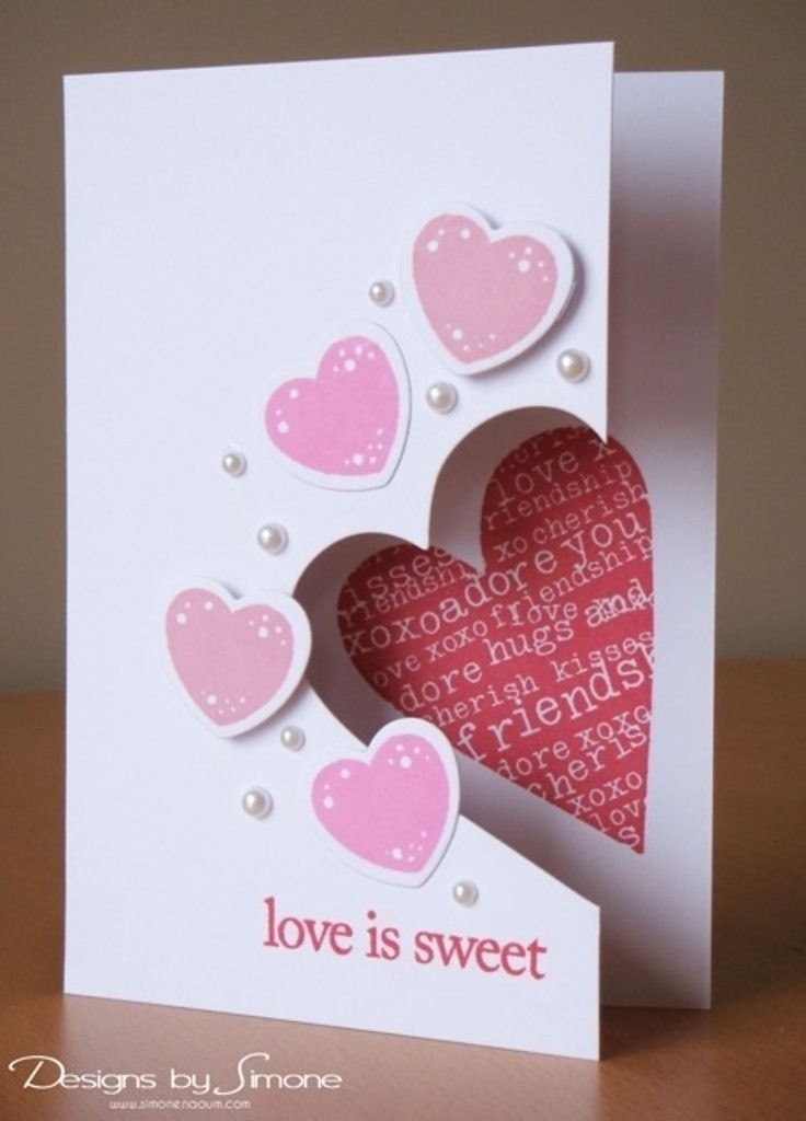 Handmade Love Cards Ideas | World Of Example throughout Handmade Love Cards Ideas 30168