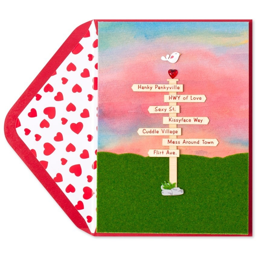 Handmade Love Signs - Valentine's Day Cards | Papyrus with regard to Cute Handmade Love Cards For Him 30228
