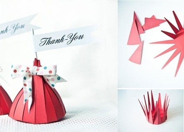 Handmade Paper Craft Gift Ideas Examples And Forms
