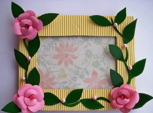 Handmade Photo Frame Craft Project Ideas Arts And Crafts Projects