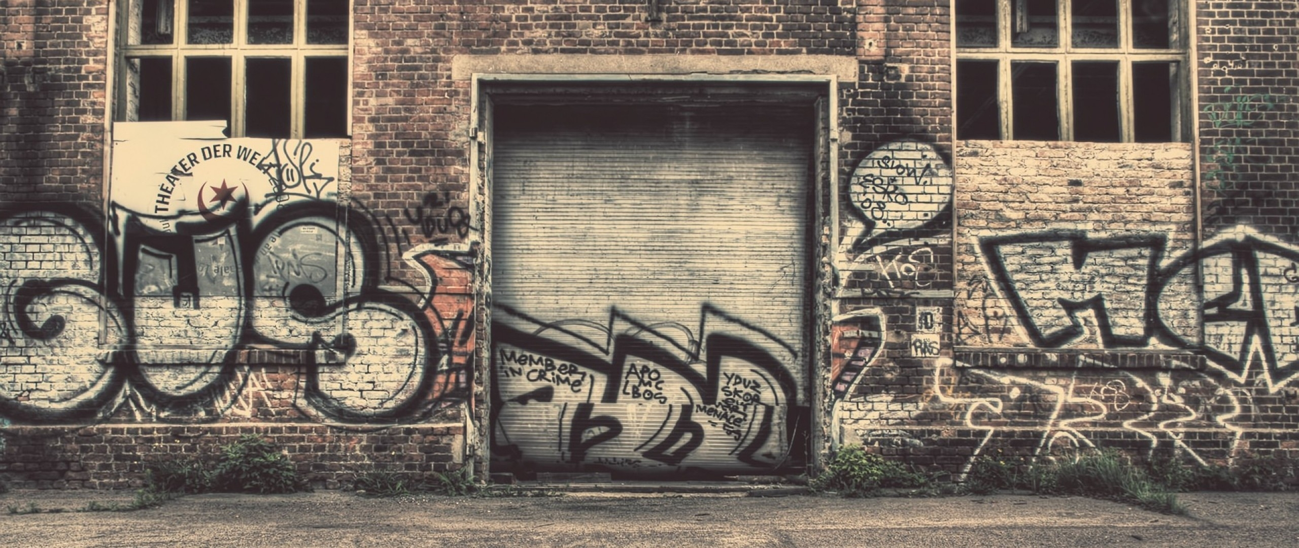 Hd Background City Graffiti Wall Drawing Art Old Street Wallpaper intended for Street Wall Painting Wallpapers 29949