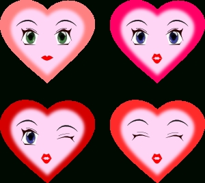Heart Faces Clip Art At Clker - Vector Clip Art Online regarding Heart Smiley Faces Clip Art 30699