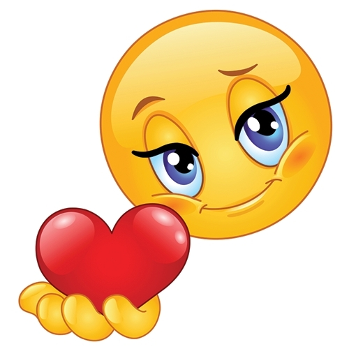 Heart Smiley | Symbols & Emoticons Within Cute Stickers For with Cute Stickers For Facebook Chat 27360