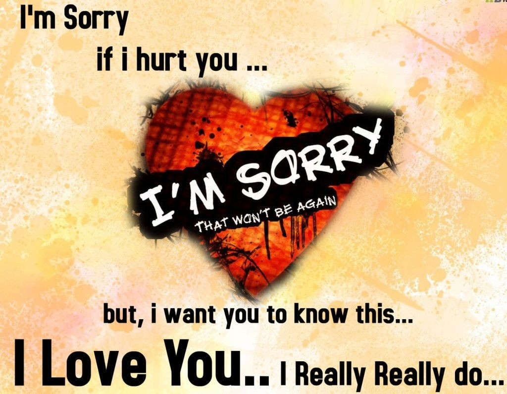 Heartmelting Sorry Messages Forgive Me Pictures For Gf /bf | All with I Am Sorry And I Love You Quotes In Hindi 30713