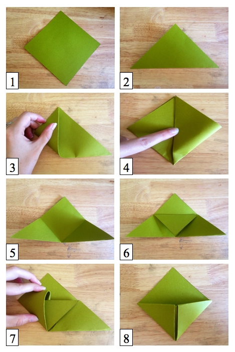 How To, How Hard, And How Much: How To Make Origami Monster regarding How To Make Corner Bookmarks With Paper 29542