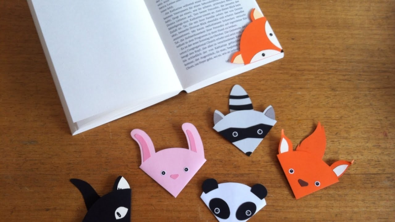 How To Make A Cute Animal Bookmark - Diy Crafts Tutorial regarding Cute Bookmarks To Make 28010