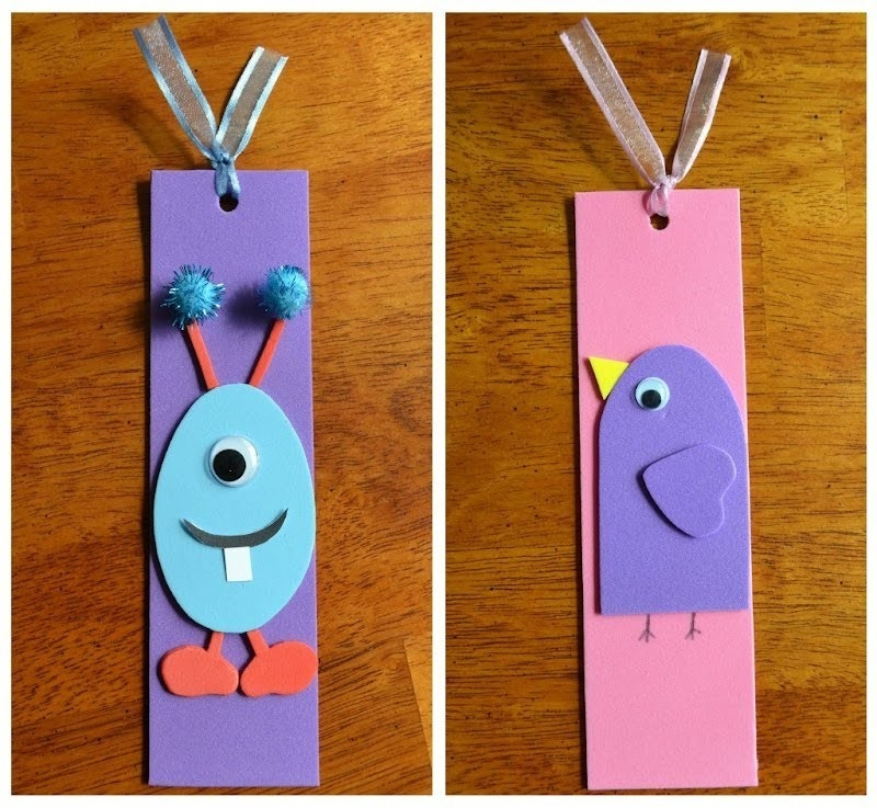 How To Make A Paper Bookmark - Youtube in How To Make Easy Bookmarks For Kids 29622