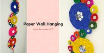 How To Make Wall Hangings With Paper Step By Step
