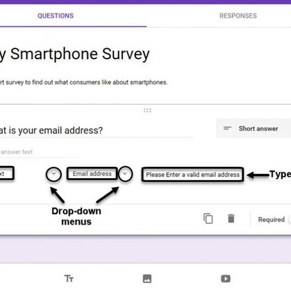 How To Make A Survey With Google Docs Forms in Google Forms Survey ...