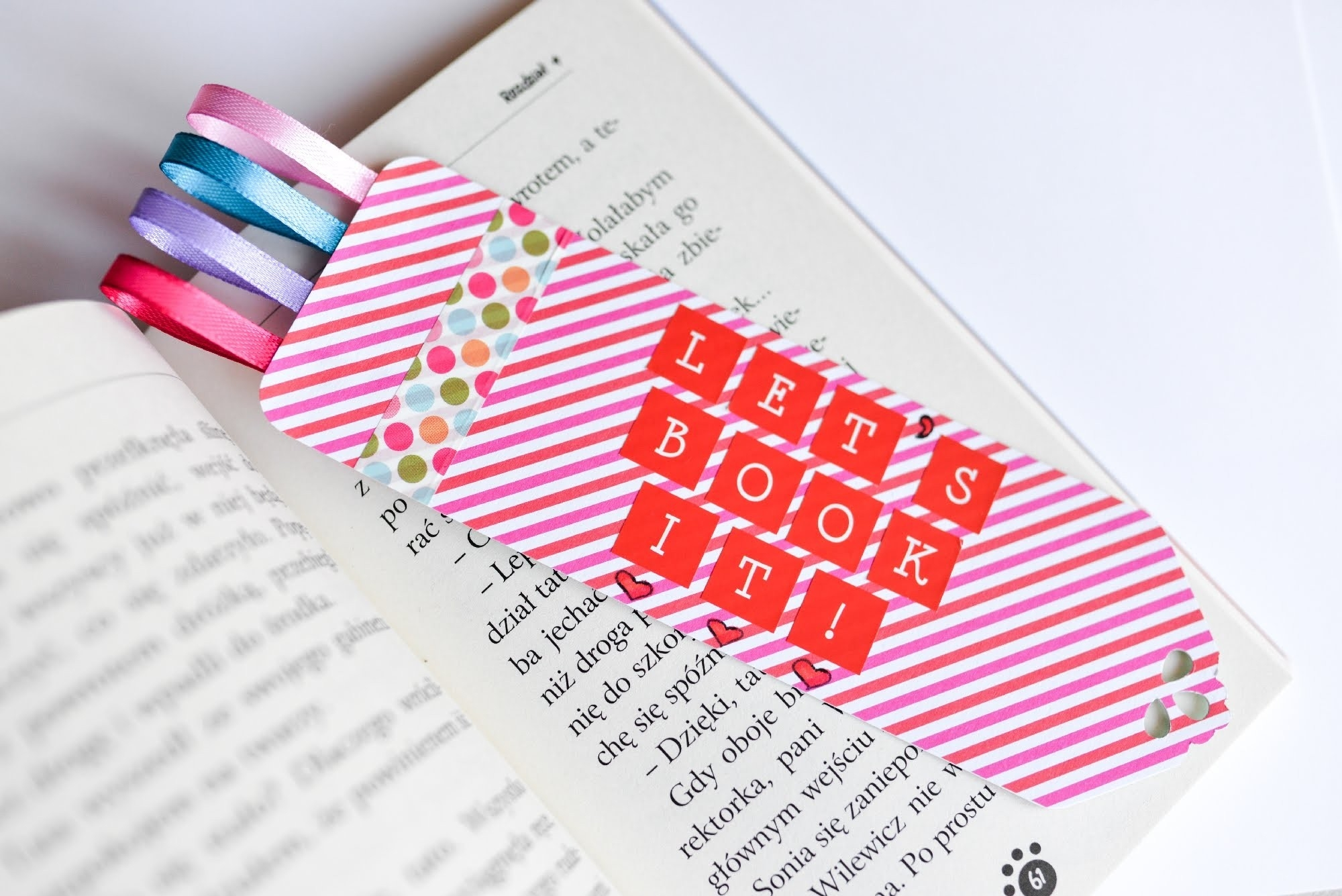 How To Make - Bookmark Great Gift - Step By Step | Zakładka Do pertaining to How To Make Bookmarks Step By Step 27889