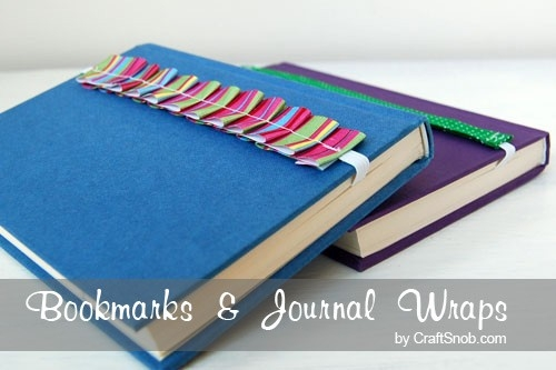 How To Make Cute Bookmarks | Craft Snob inside Handmade Bookmarks For Books 29612