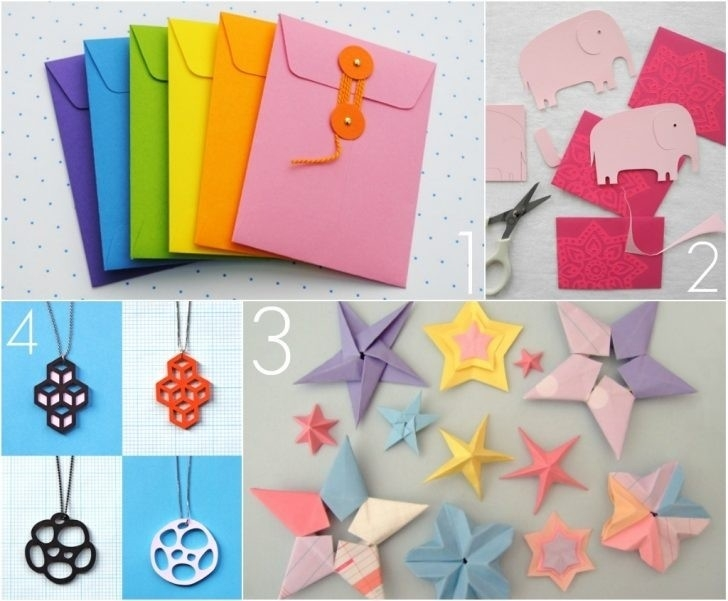 How To Make Cute Paper Crafts | World Of Example inside How To Make Cute Paper Crafts 26915