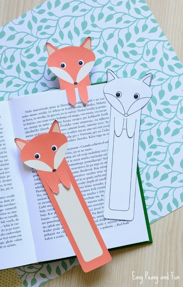 How To Make Handmade Bookmark Designs | World Of Example within Cool Bookmark Designs To Make 29602