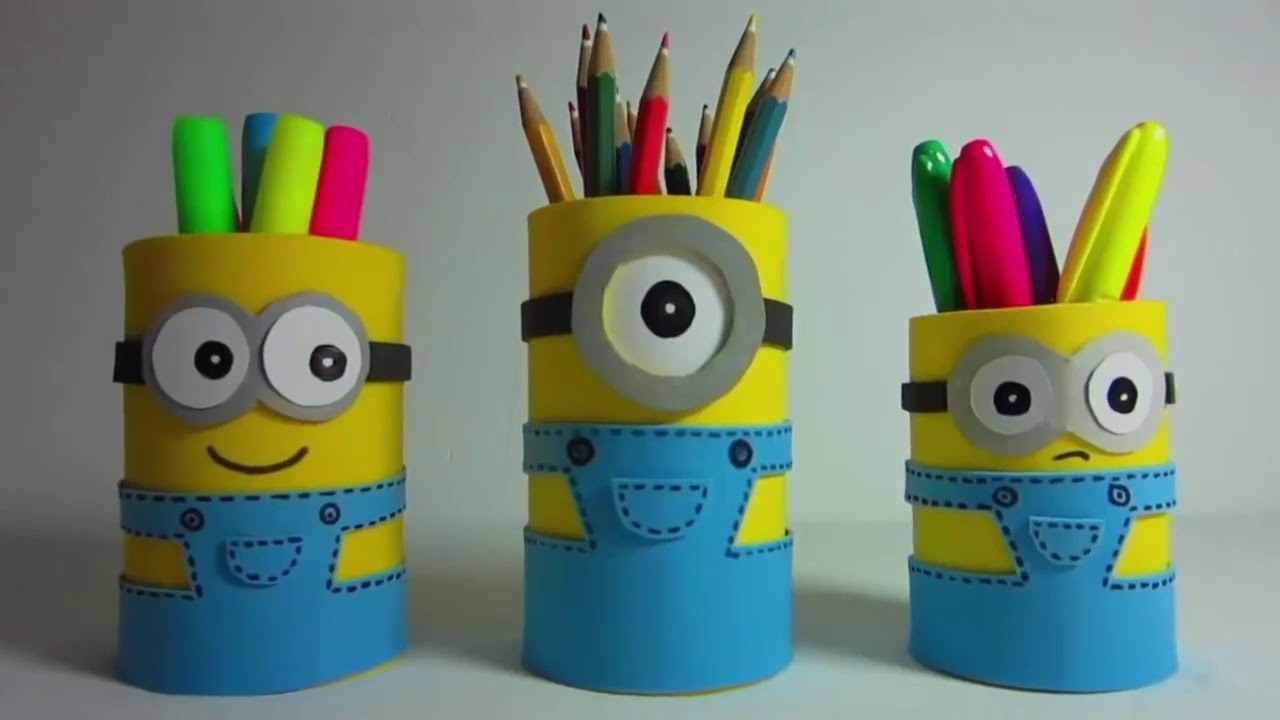 How To Make Handmade Gift For Kids Cute Holder - Youtube inside Handmade Crafts For Kids To Make 27703