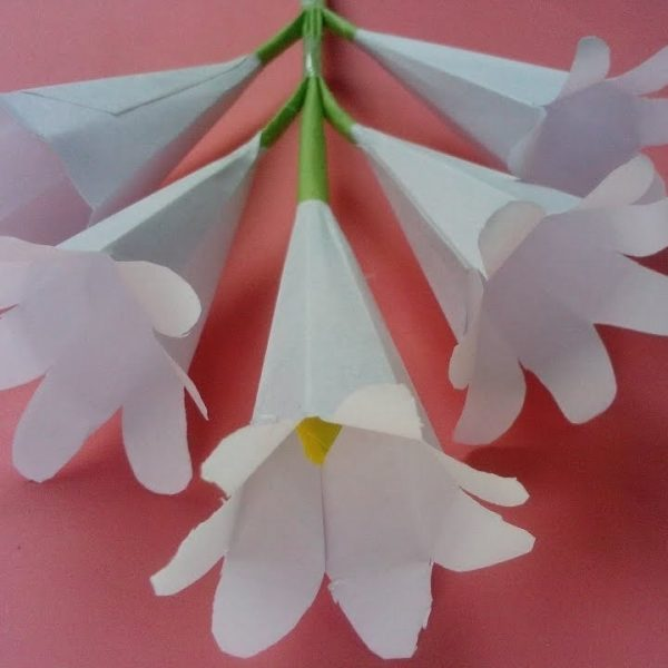 How to make origami paper flowers flower making with paper how to make origami paper flowers flower making with paper pertaining to how to make paper roses origami step by step mightylinksfo
