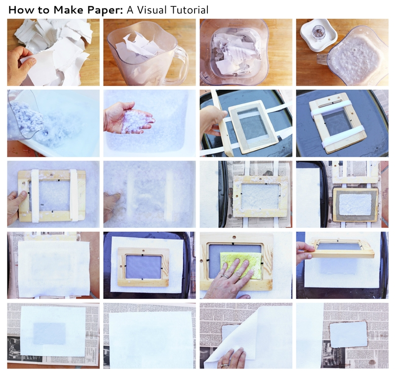 How To Make Paper - Babble Dabble Do throughout How To Make Handmade Photo Frames With Handmade Paper Step By Step 27693
