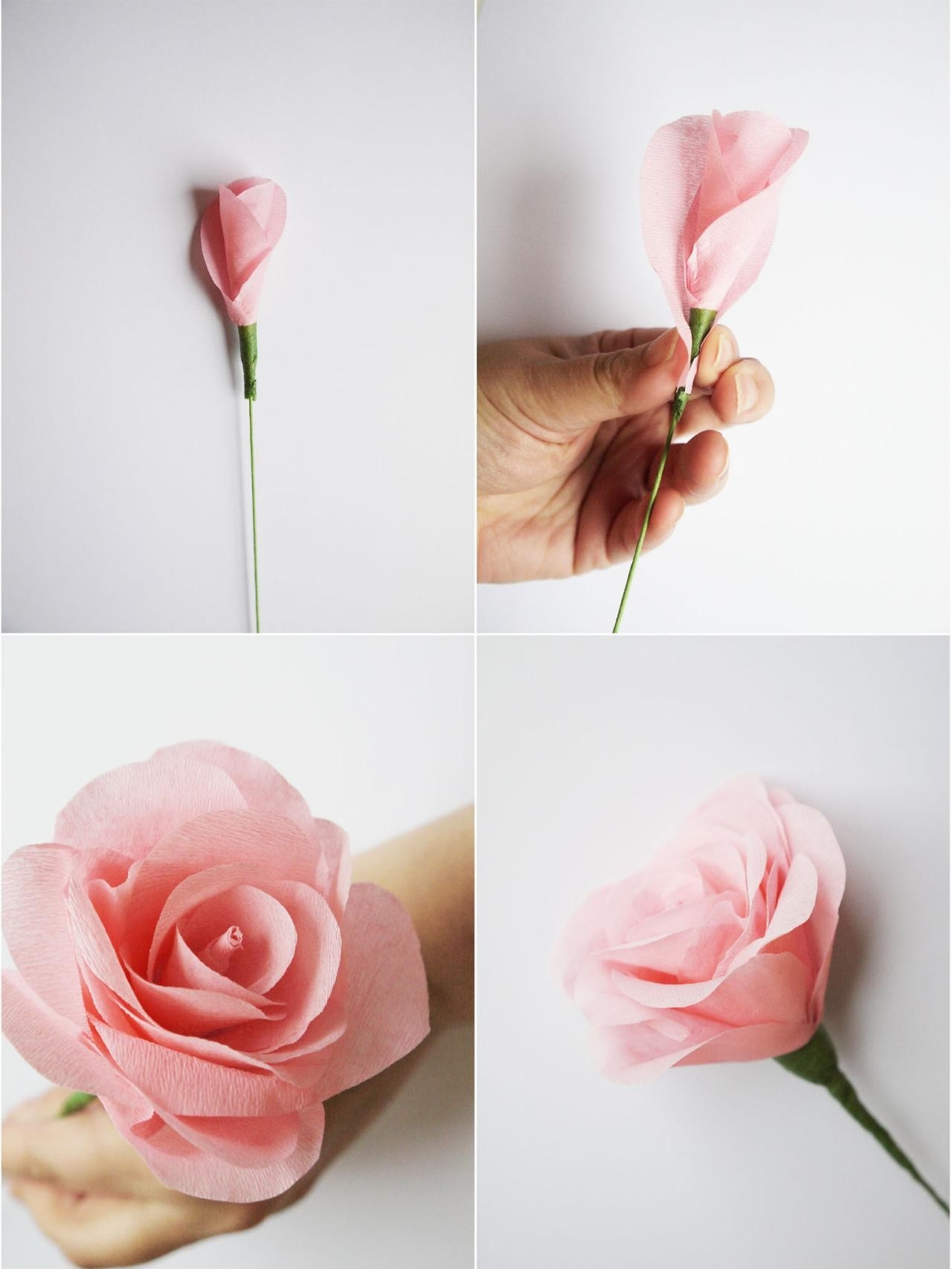How To Make Paper Flowers For A Wedding Bouquet | Hgtv within How To Make Paper Roses Step By Step With Pictures 29076