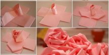 How To Make Paper Roses With Construction Paper Step By Step