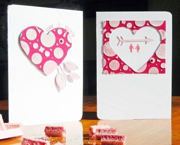 How To Make Valentine Greeting Cards At Home - Jobsmorocco intended for Handmade Love Cards Ideas 30168