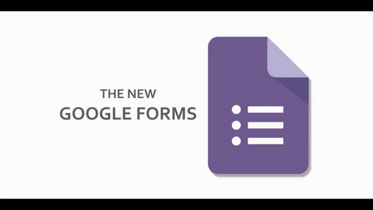 How To Use The New Google Forms - Youtube pertaining to Google Forms Image 25170