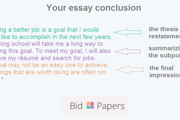 Conclusion in essay