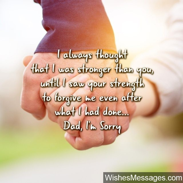 I Am Sorry Messages For Dad: Apology Quotes – Wishesmessages throughout I Am Sorry Quotes For Best Friends In Hindi 30722