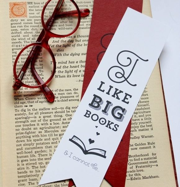 I Like Big Books & I Cannot Lie Printable Funny Valentine's with Creative Bookmarks For Books