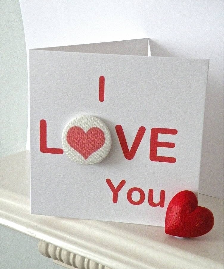 I Love U Cards For Boyfriend Handmade | Flogfolioweekly inside I Love U Cards For Boyfriend Handmade 30117