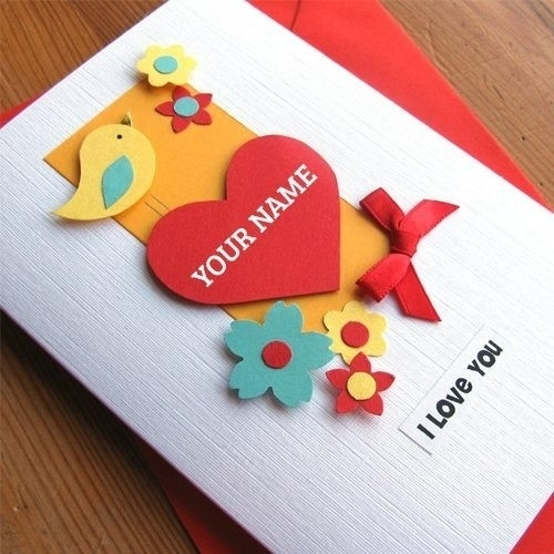 I Love U Cards For Boyfriend Handmade | World Of Example regarding I Love U Cards For Boyfriend Handmade 30117