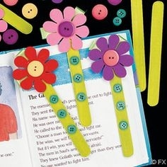 Ideias Com Palitos De Sorvetes. | Google Images, Craft And Bookmarks regarding How To Make Cute Handmade Bookmarks Design 27900