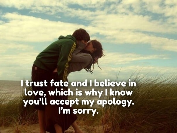 I'm Sorry Love Quotes For Her & Him - Apology Quotes Pics pertaining to I Am Sorry Love Quotes For Him 27400