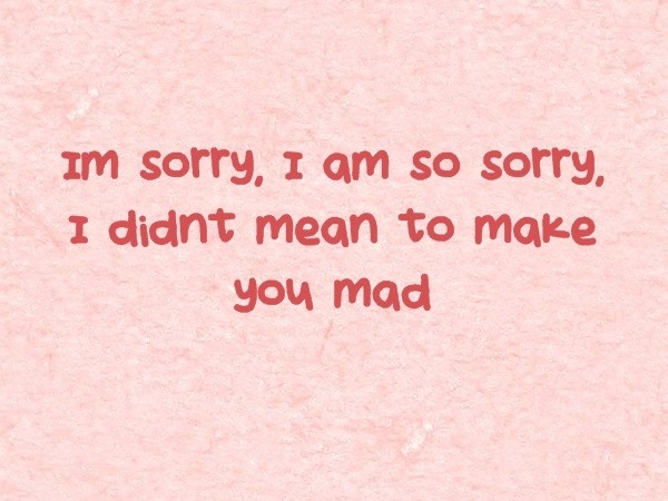 I'm Sorry Quotes - Apology Quotes - Lovequotesmessages intended for I Am Sorry Quotes For Boyfriend 28491