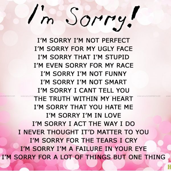 Im Sorry Quotes For Girlfriend New Sorry Quotes Wallpapers 1600 in I Am Sorry Quotes For Girlfriend Tagalog