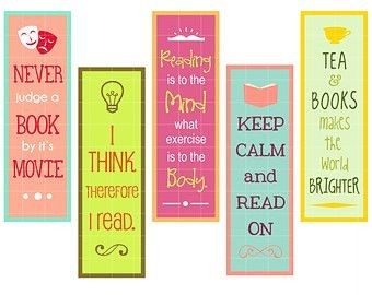 Image Result For Bookmark Design | Záložky | Pinterest | Bookmarks with Bookmarks For Books Designs 27943