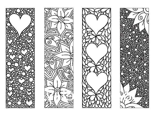 Image Result For Free Printable Bookmarks To Color For Adults for Cool Bookmarks To Print Black And White 29582