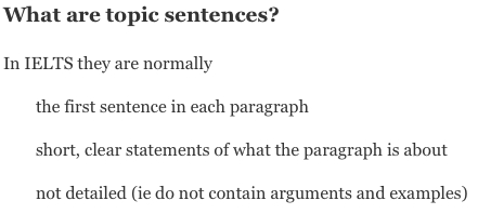 Introduction To Topic Sentences | with Topic Sentence Examples 28871