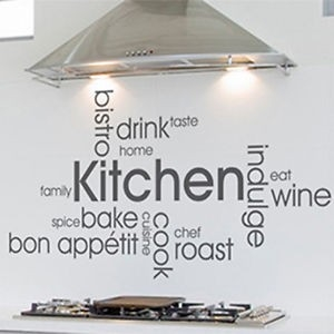 Kitchen Vinyl Wall Quote, Kitchen Quotes - 8-Ball.tech | House pertaining to Kitchen Wall Art Quotes 26594