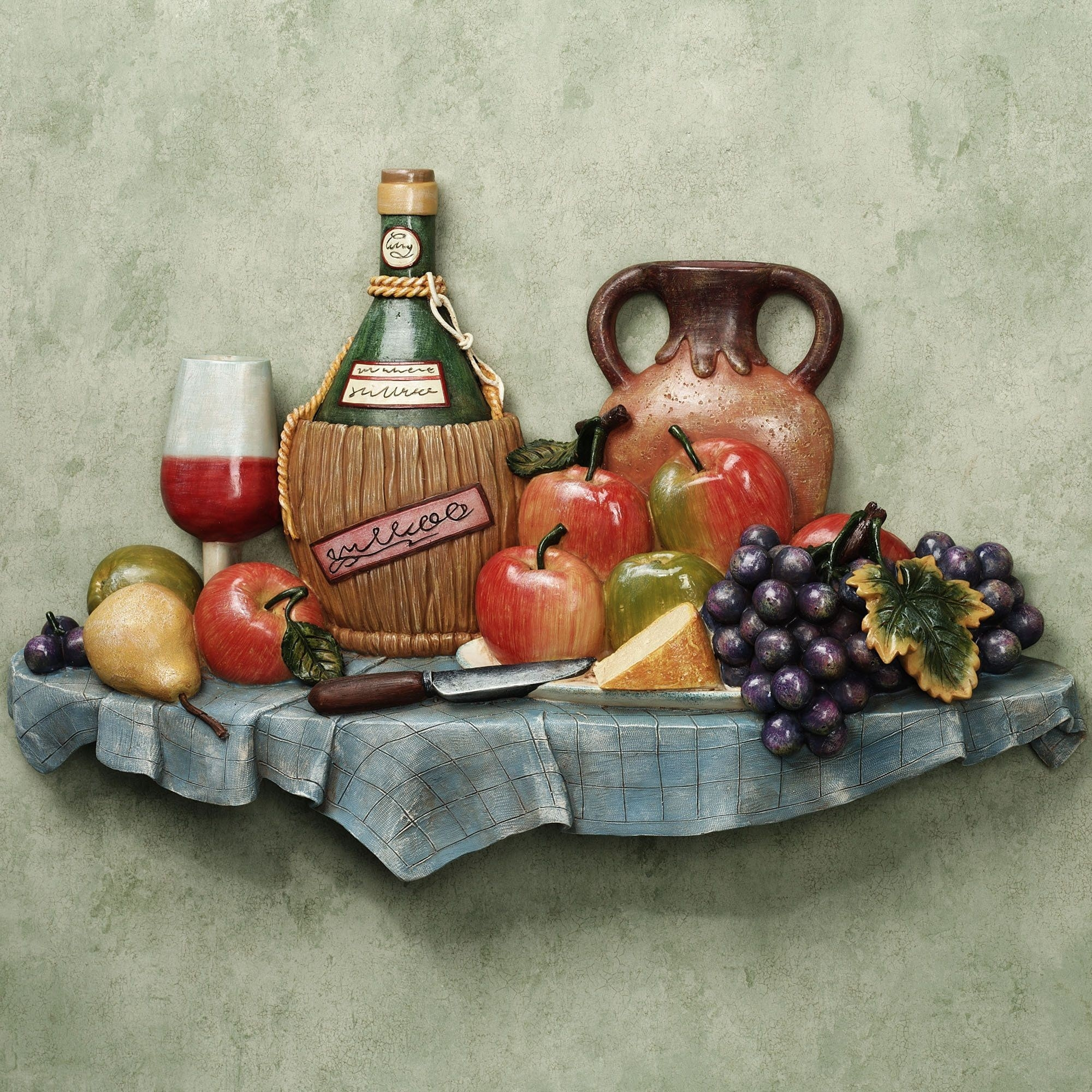 Kitchen Wall Plaques |  Kitchen Wall Plaque Sale Price $ 59 99 pertaining to Tuscan Kitchen Wall Art 27089