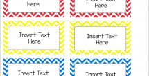 Label Templates Free For Word