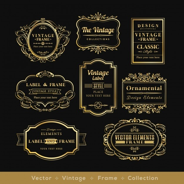 Label Vectors, Photos And Psd Files | Free Download throughout Vintage Label Free Download 29371