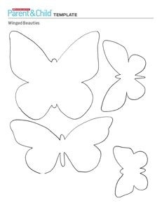 large printable butterfly template free printable butterfly039s inside butterfly templates lots