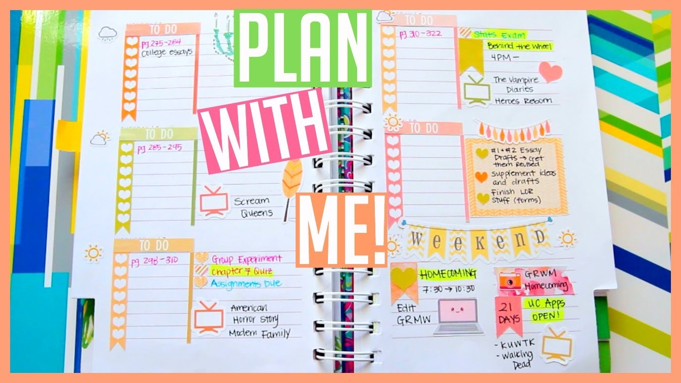 Lilly Pulitzer Planner Organization! + Etsy Sticker Haul! - Youtube intended for Lilly Pulitzer Planner Stickers 30409