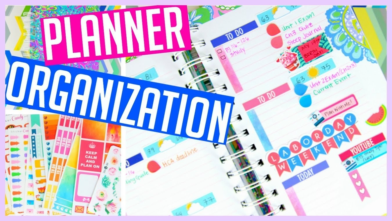 Lilly Pulitzer Planner Organization + Sticker Haul! - Youtube inside Lilly Pulitzer Planner Stickers 30409