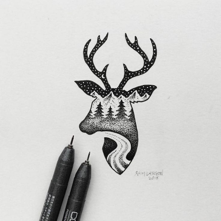 Little Hybrid Illustrations By Sam Larson – Fubiz Media intended for Black And White Art Ideas 28170