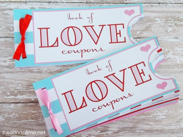 Love Coupon Book -The Perfect Valentine's Day Gift! intended for Book Of Love Coupons 30349