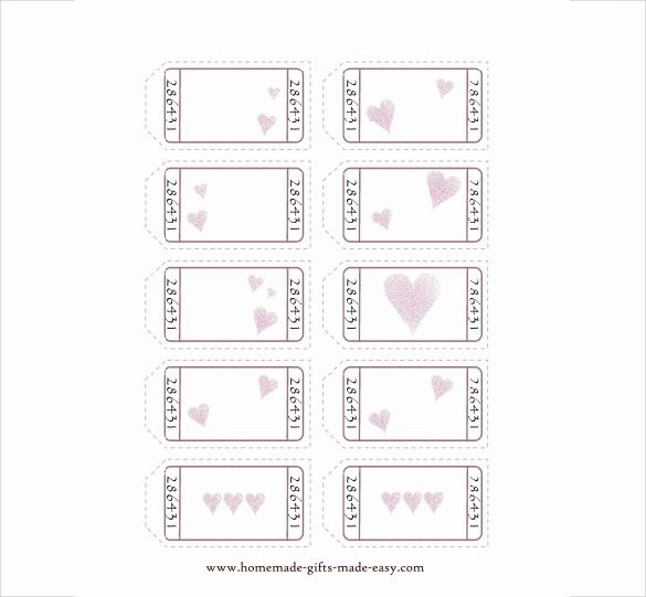 Love Coupon Template Download Free | Journalingsage pertaining to Love Coupon Template Download Free 30288