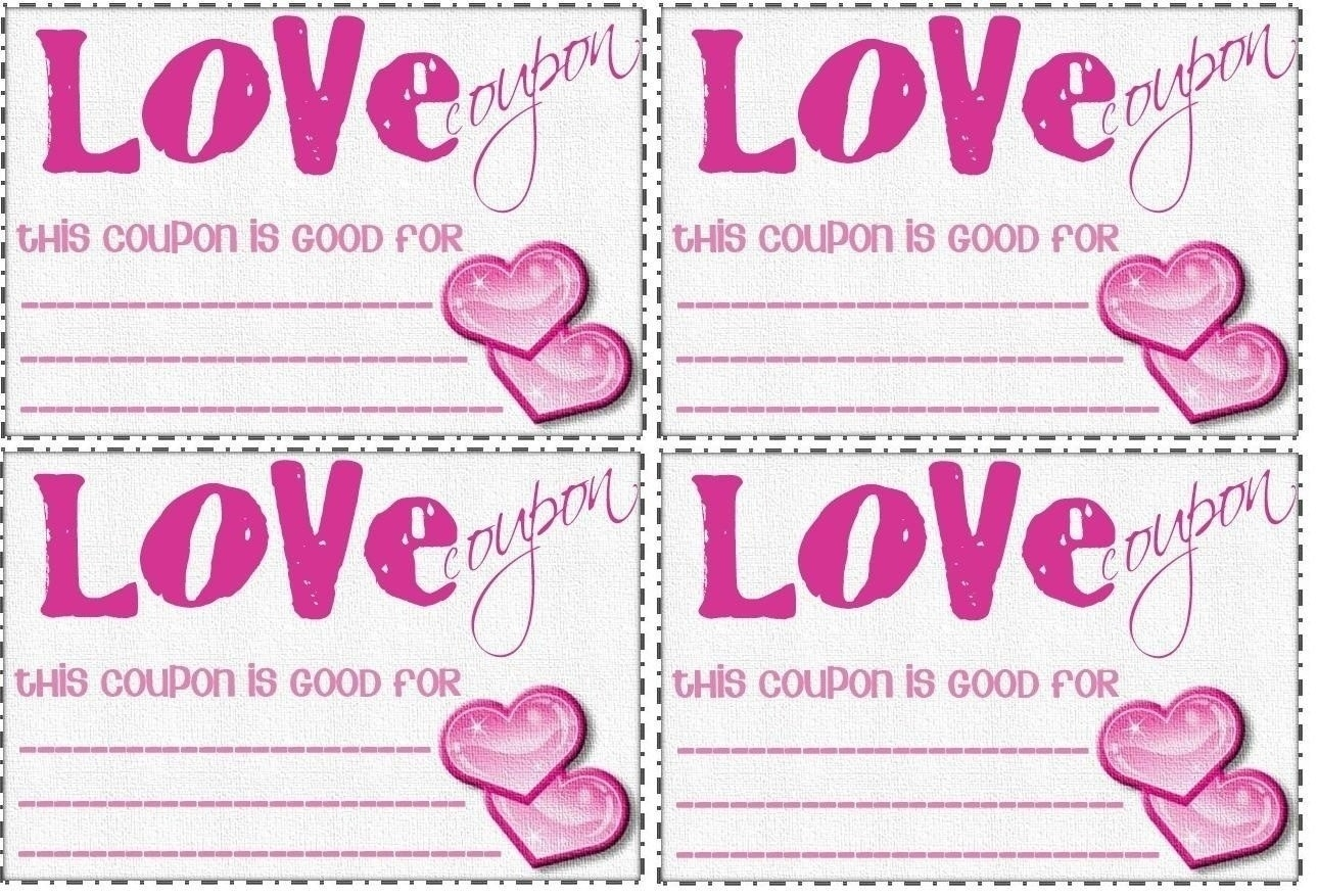 Love Coupon Template Microsoft Word | World Of Example in Love Coupon Template Microsoft Word 28237
