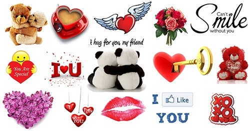 Love Emoticon Facebook Chat: Love Emoticon Facebook Chat | Funny with Love Stickers For Facebook Chat 26764